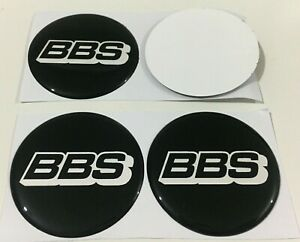 4pcs Car Wheel Center Sticker Rims Decal Hub Caps Cover Emblem Logo For Bbs