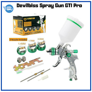 Devilbiss Spray Gun Gti Pro For Paint Cars 1 4 1 7 2 0mm Nozzle Mini Air Paint