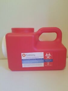 Pureway Sharps 1 2 Gallon Disposal System Single