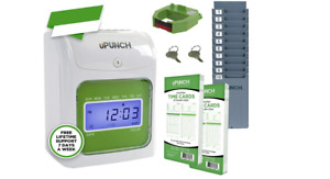 Time Clock Employee Office Payroll Auto Machine Punch In System Card Electronic