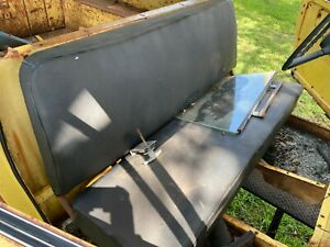 International Scout Seat Scout 80 800 Bench Seat Half Cab