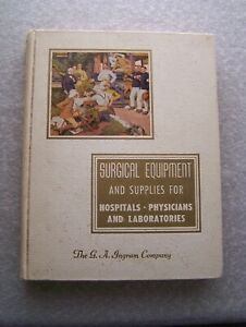 Vintage 1951 Ingram Surgical Equipment Supplies Catalog Hospitals Labs M d