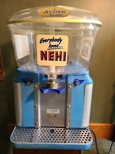 Vtg Nehi Soda Fountain Jet Spray Dispenser Works
