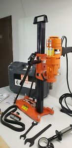 Weka Core Bore Dk12 m4 3 Speed Hand Held Drill Combo Stand