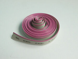6 Conductor Flat Ribbon Cable 0 05 Pitch 5 Feet Length
