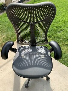 Office Chair Herman Miller Mirra Basic Model Flex Back Task Chair