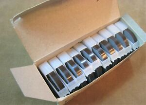 Nos 10 Rolls Glossy Brown Dymo Labeling Embossing Label Maker Tape 1 4 X 12