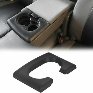 Center Console Cup Holder Armrest Pad Replacement Black Fits Ford F150 2004 2014