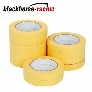 3 4 X165 Masking Tape Crepe Paper Automotive Refinish 06652 12 Rolls 48 Rolls