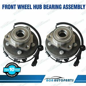 Front Wheel Hub Bearing Pair For Ford Explorer Mercury Mountaineer 2002 2005