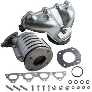 Exhaust Manifold W Catalytic Converter For Honda Civic I4 D16y7 Engine New