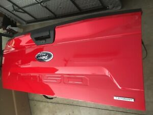 2020 Ford F 150 Red Tailgate Truck Tailgate With Camera New 2018 2019
