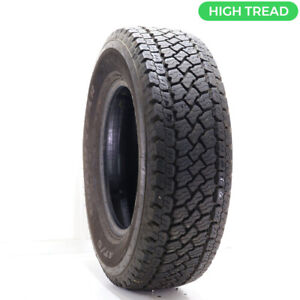 Used Lt 265 70r17 Goodyear Wrangler At S 121 118s 14 32