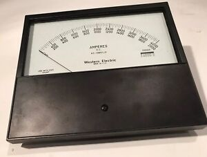 Vintage Western Electric Ks 19851 Dc L11 Amp Meter 7 5 industrial Electrical