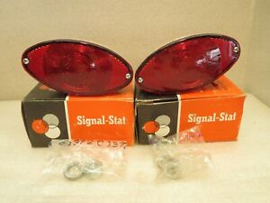 Vintage Signal Stat 501 Turn Signal Stop Tail Lamps Rat Rod Rat Truck New In Box