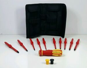 Partsmaster Dy81100600 14 Piece 1000 V Insulated Electrician Screwdriver Set