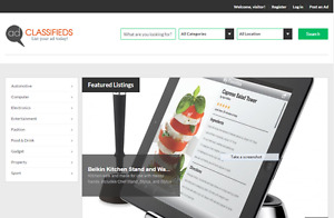 Excellent Classified Ads Website With A Super clean Layout Installation hosting