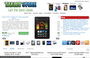 Amazon Affiliate Tablet Store Website Free Installation Hosting