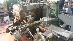 3 Warner Swasey M 2200 Square Head Turret Lathe 10 Hp Hyd Collet Closer