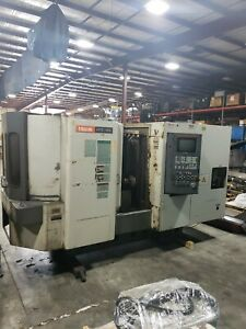Mazak Htc 400 Horizontal Cnc Maching Center Milling Machine