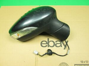 2011 2017 Ford Fiesta Right Passenger Side Rear View Door Mirror Gray Oem Used