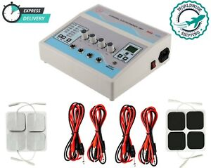 Professional Home Use 4 Channel Electrotherapy Machine Pulsed Pain Massager Unit