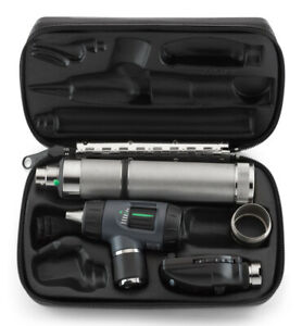 Welch Allyn 97200 mc Halogen Hpx Diagnostic Set Including Coaxial Ophthalmoscope