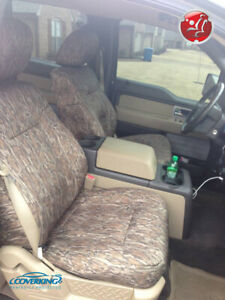 Mossy Oak Bottomland Camo Custom Seat Covers For Toyota Tacoma Made To Order