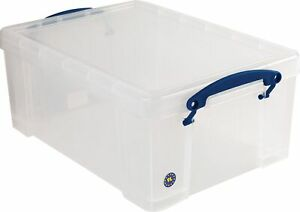 Really Useful Box 9 Liter Snap Lid Storage Bin 9c pk4cb