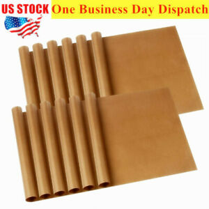 12 Pcs Ptfe Teflon Transfer Sheets For Heat Press Non Stick Reusable Craft Paper