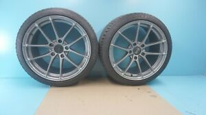 Porsche 911 Carrera Leggera 19 Hlt Wheels With Tires Pair 2 Pieces