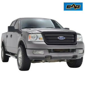 Eag Replacement Grille Upper Full Grill W shell Fit 04 08 Ford F150 Black
