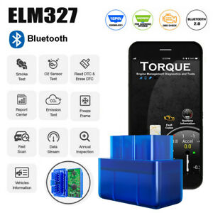 V1 5 Bluetooth Elm327 Android Torque Car Scanner Obdii Auto Diagnostic Scan Tool