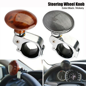 1pc Universal Car Steering Wheel Handle Assister Spinner Knob Ball Auto Truck
