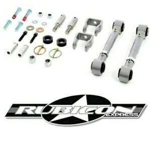 Rubicon Express 4 5 5 5 Sway Bar Disconnect Kit For 97 06 Jeep Wrangler Tj