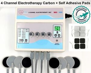 Prof Home Use Electrotherapy 4 Channel Machine Physical Pain Relief Therapy Unit