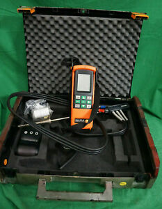 Testo 325 m Combustion Gas Analyzer Printer Probe W case