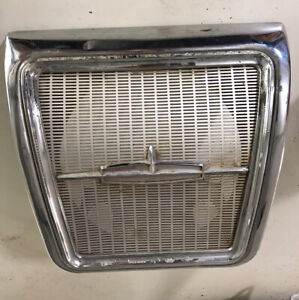 1962 1963 1964 Oldsmobile 98 88 Chevy Impala Rear Seat Speaker Cover Grill Oem