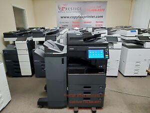 Toshiba E studio 3505ac Color Copier With Stapling Finisher Meter Only 63k