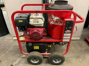 Used Shark Sgp353037 Gas diesel 3 5gpm 3000psi Hot Water Pressure Washer