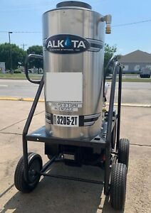 Used Alkota 3205 2t Gas diesel 3gpm 2000psi Hot Water Pressure Washer
