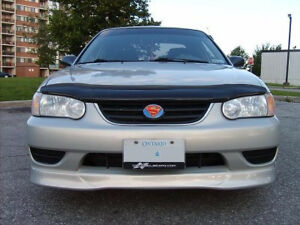 2001 01 2002 02 Toyota Corolla Original Gtec Style Full Lip Body Kit Trd