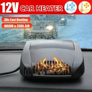 For Easy Snow 12v Fast Car Heater Heating Cooling Fan Defroster Fog Removal New