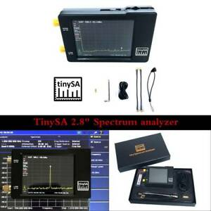 Handheld Tiny Spectrum Analyzer Tinysa 2 8 Inch Lcd 100khz 960mhz Touch Control
