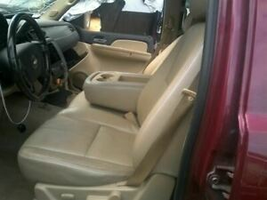 Driver Front Seat Bucket Bench Electric Leather Fits 07 Avalanche 1500 2242193