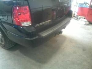 Rear Bumper With Park Assist Smooth Painted Fits 03 06 Expedition 2287321