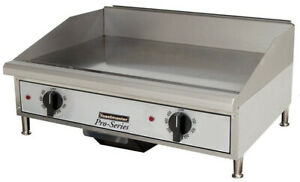 Toastmaster Tmgt24 Countertop 24 Thermostatic Control Gas Griddle