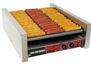 Star X50 Grill max Stadium Seated 50 Hot Dog Chrome Roller Grill