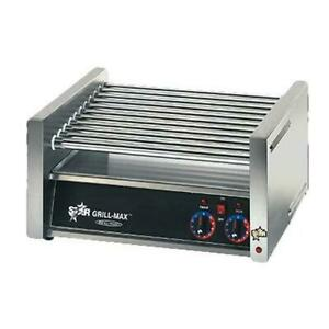 Star X30 Grill max Stadium Seated 30 Hot Dog Chrome Roller Grill
