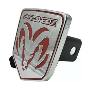 Official Licensed Dodge Ram 1500 2500 3500 Chrome Tow Hitch Cover 2 Receiver